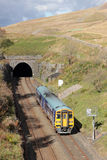 Train Blea Moor Tunnel on Settle to Carlisle line Royalty Free Stock Image