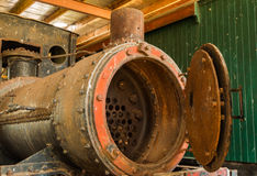 Train Boiler Stock Photo