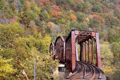 Train bridge Stock Image