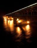 Train bridge. In Kiev city, Ukraine Stock Image