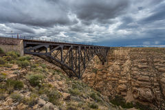 Train Bridge Stock Image