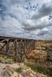 Train Bridge Royalty Free Stock Photo