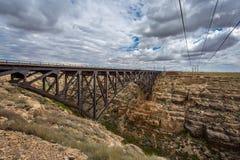 Train Bridge Royalty Free Stock Image