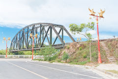 Train bridge. Stock Images
