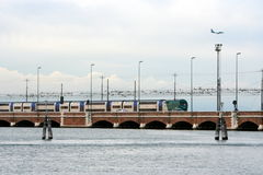 Free Train Bridge On The Adriatic Sea Stock Image - 12918701