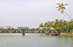 Train bridge in Sri Lanka Stock Image