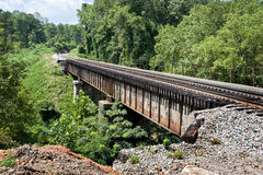 Train Bridge In Tennessee Revised Royalty Free Stock Photography