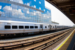 Train and Bulding Stock Photography