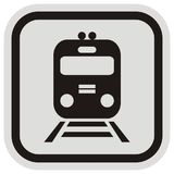 Train, button Stock Images