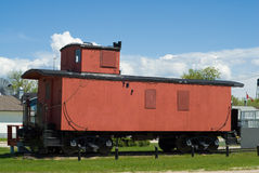 Train Caboose Stock Image