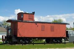 Train Caboose stock image