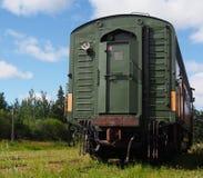 Train Car At The Alberta Railway Museum Royalty Free Stock Photo