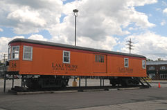 Train Car from Lakeshore Electric Railway Royalty Free Stock Photography