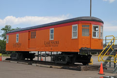 Train Car from Lakeshore Electric Railway. Image of a 4Train Car from lakeshore electric railway Stock Photos