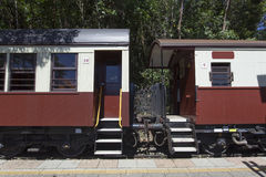 Train carriages Stock Images