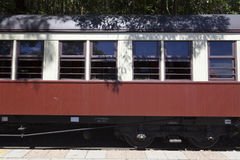 Train carriages Royalty Free Stock Photos