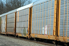 Train cars Stock Photography