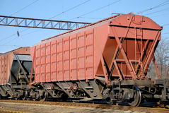 The train with cars for dry cargo royalty free stock images