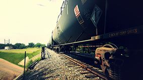 Train Cars stock image