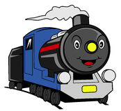 Train cartoon Stock Photo