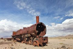 Train cemetery Royalty Free Stock Photo