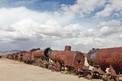 Train cemetery Stock Photography