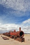 Train cemetery Stock Image