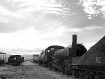 Train cemetery Royalty Free Stock Photography