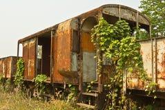 Train cemetery, Uttaradit, Thailand Royalty Free Stock Photography