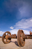 Train Cemetery at Uyuni, Bolivia. Stock Photos