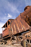 Train Cemetery at Uyuni, Bolivia. Stock Image