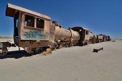 The train cemetery. Uyuni. Potosí Department. Bolivia Stock Images