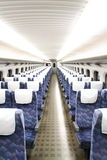 The Train Chair. This is a Shinkansen seats inside in Japan Stock Images