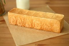 Train Chair  bread. Handmade Train Chair  bread ,Cartoonbread,Sweet bread Stock Image