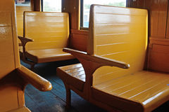 Train chair Royalty Free Stock Image