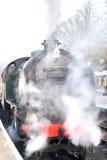 Train chaud et humide de vapeur Photographie stock libre de droits