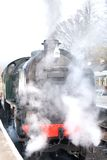 Train chaud et humide de vapeur Photos libres de droits