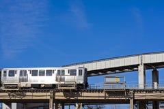 Train Chicago. photos libres de droits