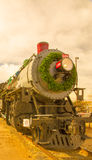 Train at Christmas Stock Photography