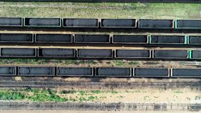 Train coal shipping export delivery russia black