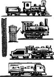 Train Collection Royalty Free Stock Photos