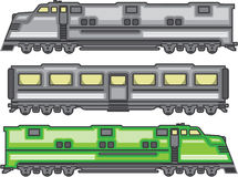 Train color Stock Photos