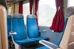 Train compartment Royalty Free Stock Photography