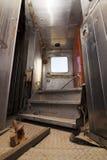 Train Connector Doorway Stock Photo