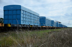 Train container Royalty Free Stock Image