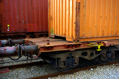 Train Containers Royalty Free Stock Image