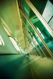 Train corridor Royalty Free Stock Photo