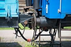 Train coupler. Stock Image