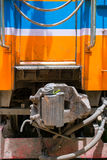 Train coupling box Stock Image