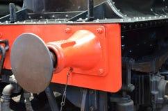 Train coupling. Stock Photos